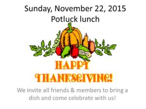 BUC-THANKSGIVING INVITATION