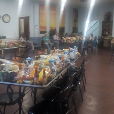 Balboa Union Church, missions programs, AAAM, Asistencia Alimenticia para Adultos Mayores, food bank, food baskets, service, community, English speaking, outreach, missions