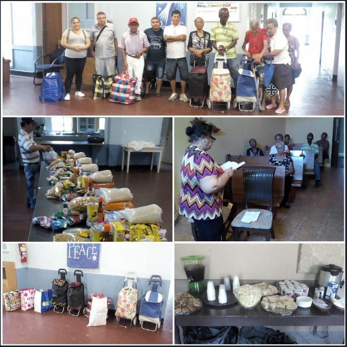 food baskets, community, assistance, poor, feed my sheep, outreach, missions, projects, service, monthly delivery